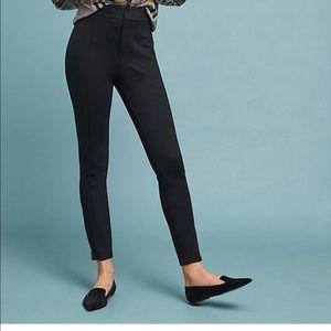 Anthropologie The Essential Slim Trouser Black 12
